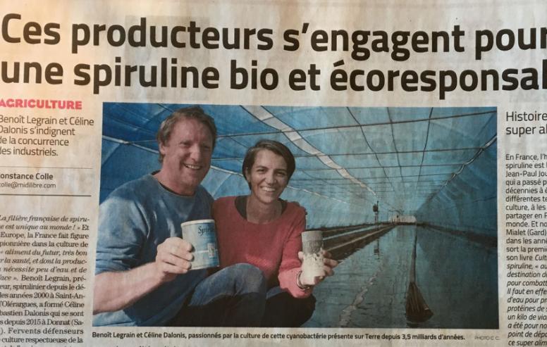 Spiruline France